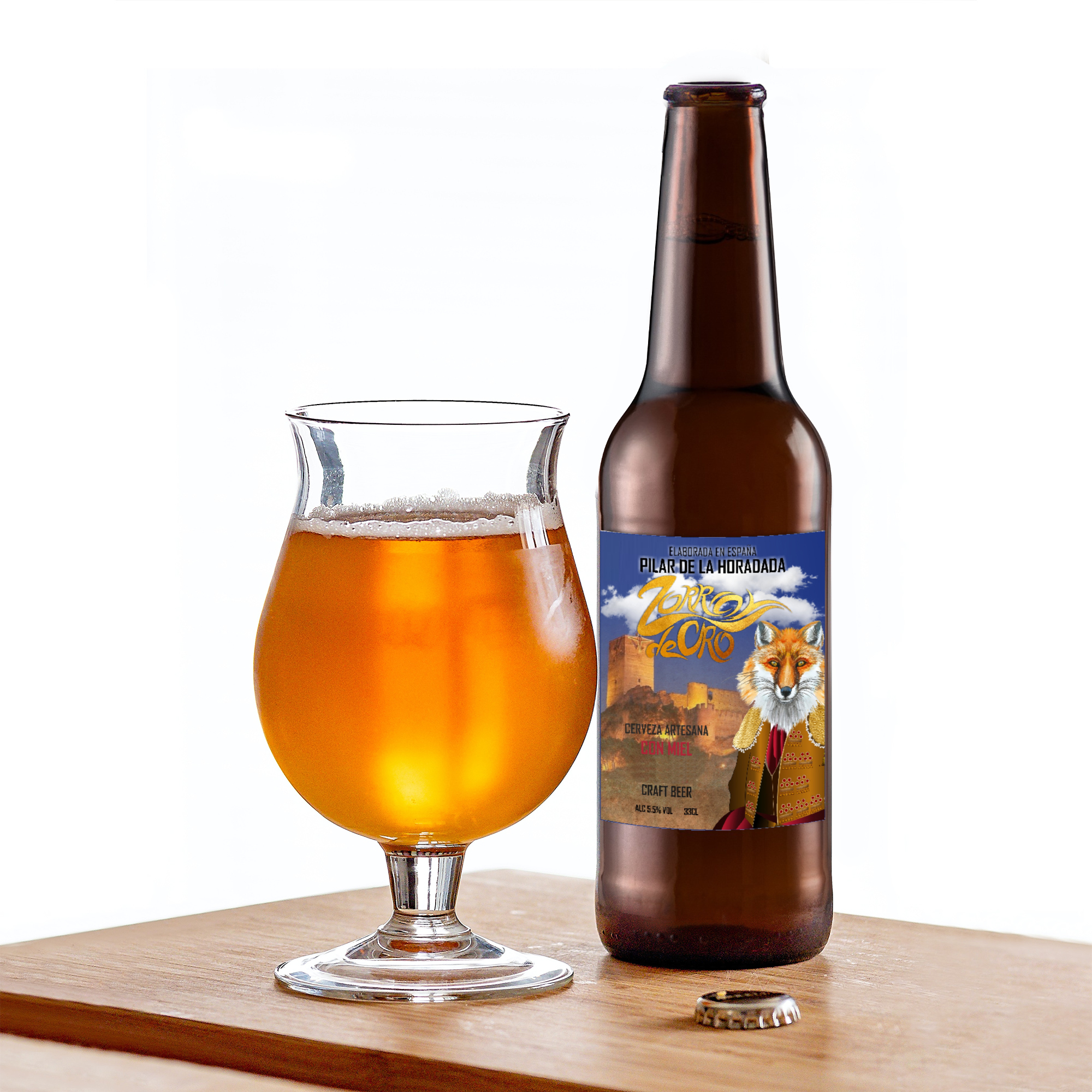 Cerveza de miel, 5.5%