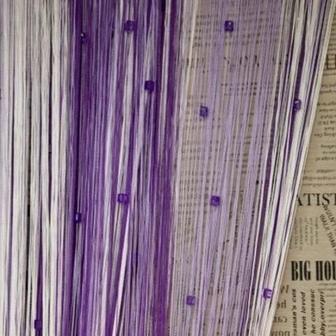 Радуга с кубиками Белая, сиреневая, фиолетовая. Ш-300см., В-280см. Арт. 1-12-205