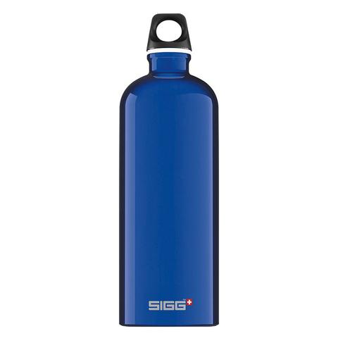 Бутылка Sigg Traveller (1 литр), голубая