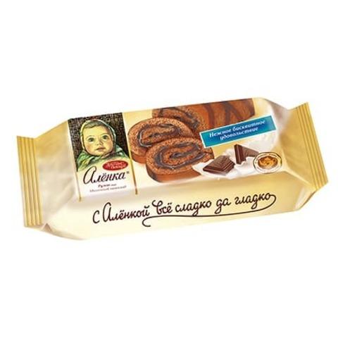 Рулет Алёнка вкус Молочный шоколад, 200 гр.