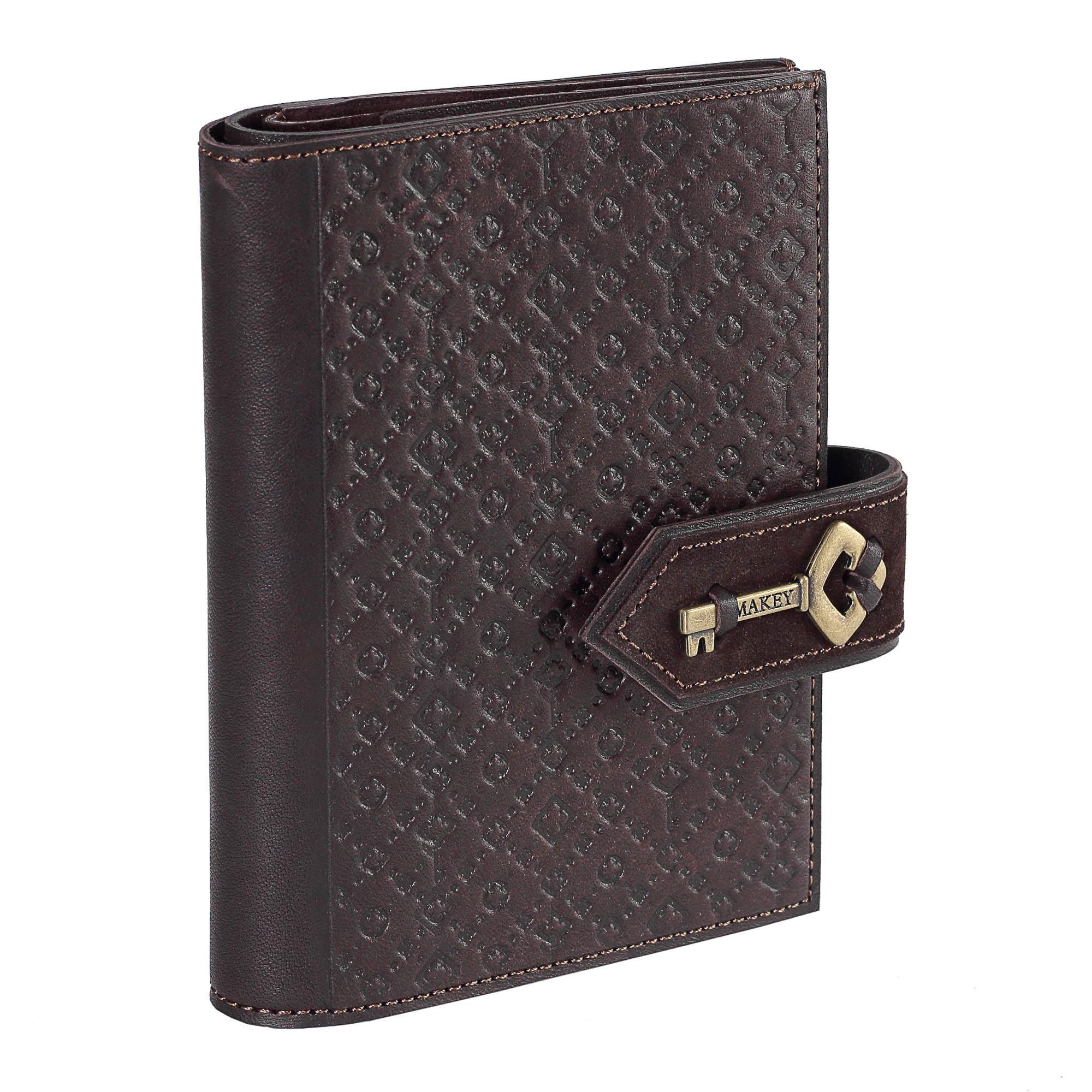 Обложка для документов «Ключ». Цвет коричневый