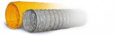 Воздуховод Tex PVC-F 300 d140мм (1м) из Полиэфирной ткани с пропиткой ПВХ