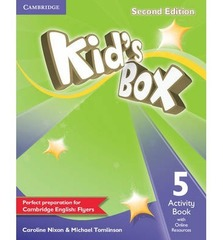 Kid's Box Second Edition 5 Activity Book with Online Resources