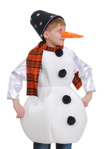 Костюм Снеговик с морковкой