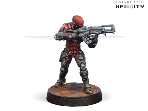 Intruder, Corregidor Assault Commando (HMG)