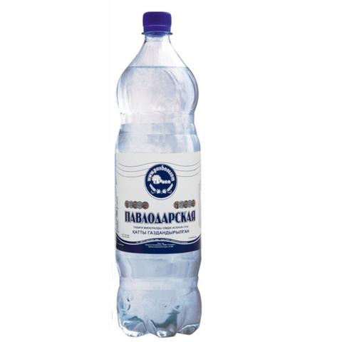 Вода минеральная ПАВЛОДАРСКАЯ газ 2 л пл/б КАЗАХСТАН