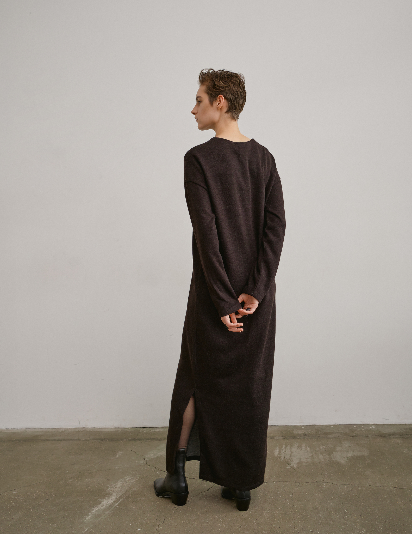 Платье трикотажное длинное PORTAL