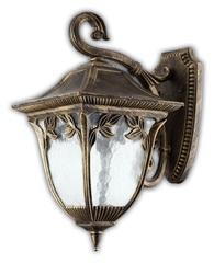 Светильник садово-парковый, 60W 220V E27 черное золото, PL4072 (Feron)