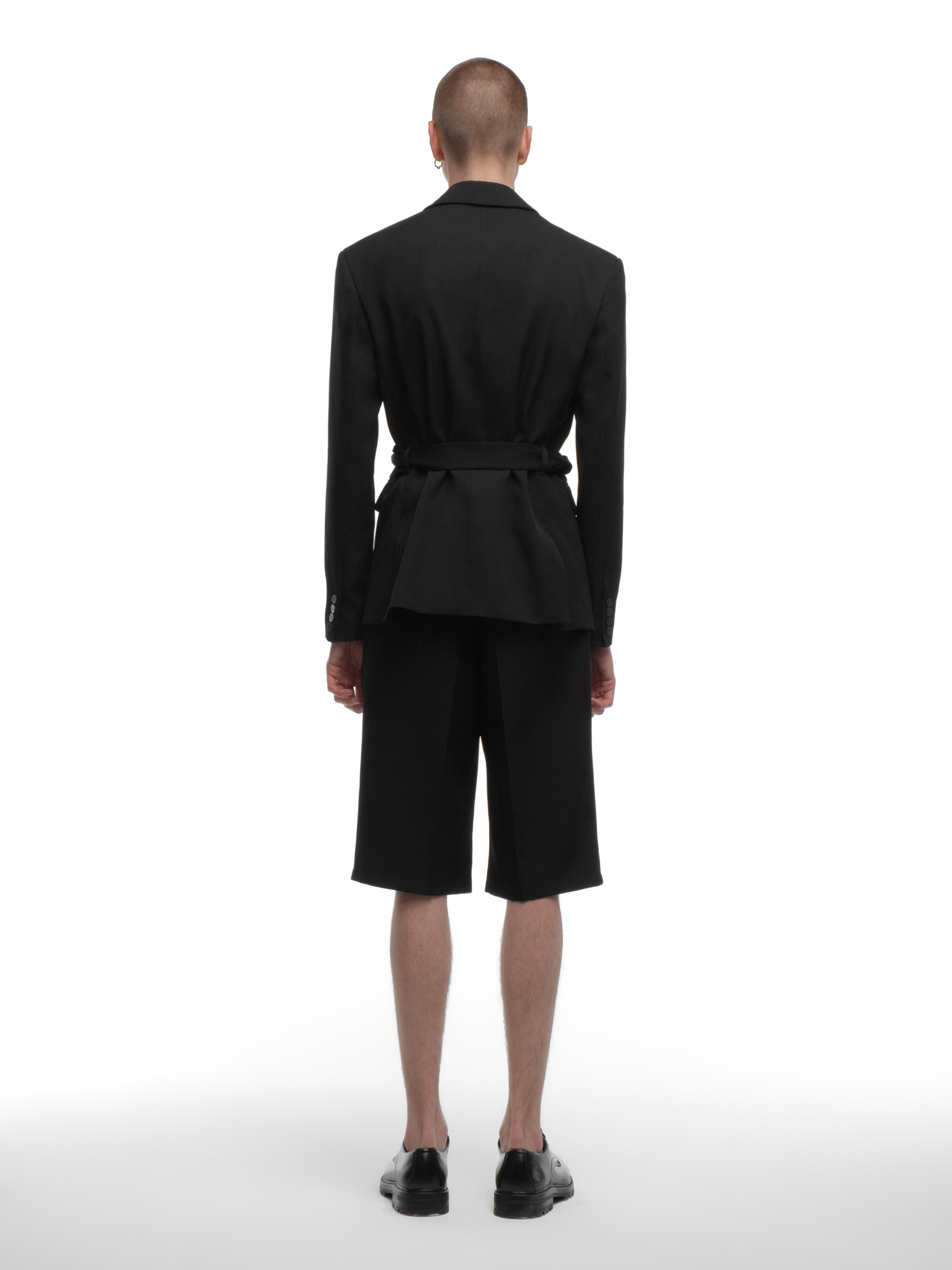 Пиджак с поясом