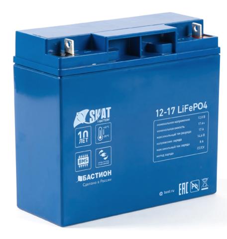 Аккумуляторная батарея Skat i-Battery 12-17 LiFePO4