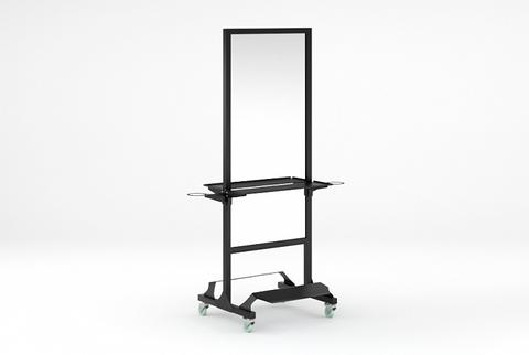 Зеркало MODUS с двумя фенодержателями и подножками