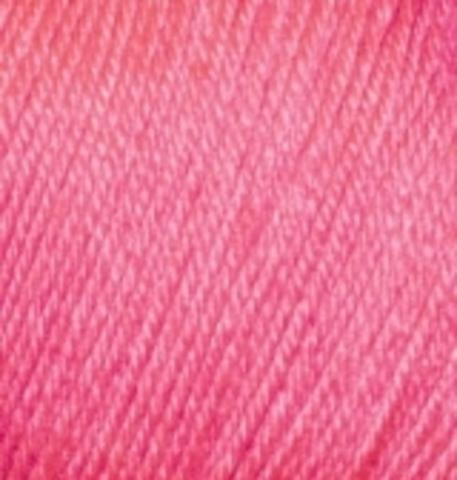 Пряжа Baby wool ( Alize) 33 Розовый темный