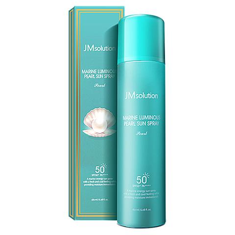 JMsolution Спрей солнцезащитный с морскими минералами - Marine luminous pearl deep sun spray, 180мл
