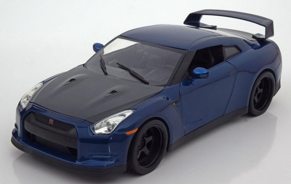 Коллекционная модель NISSAN GT-R (R35) FROM THE MOVIE FAST & FURIOUS 7 2009