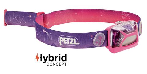 Фонарь светодиодный налобный Petzl Lamp Tikkid розовый, 20 лм, 3 AAA
