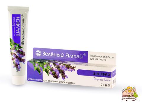 Зубная паста Шалфей Зеленый Алтай