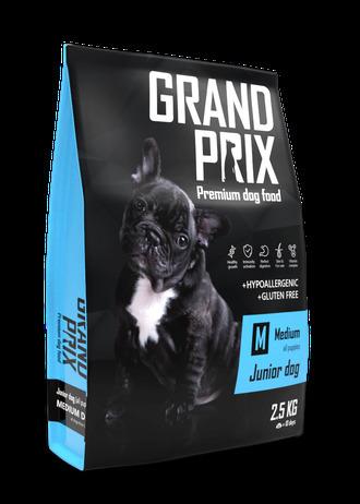Сухой корм Сухой корм для щенков собак средних пород, Grand Prix Medium Junior 73167.jpeg