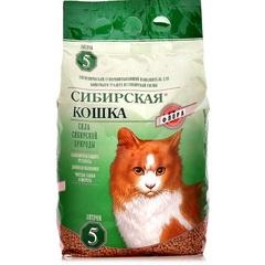Наполнитель для кошачьего туалета, Сибирская Кошка Флора