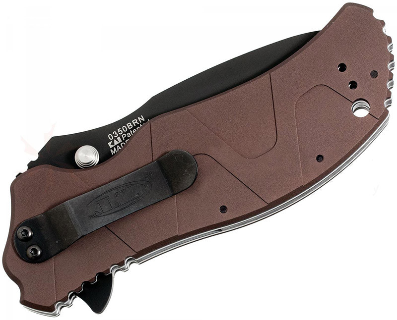 Нож Zero Tolerance модель 0350BRN Brown Handle SpeedSafe
