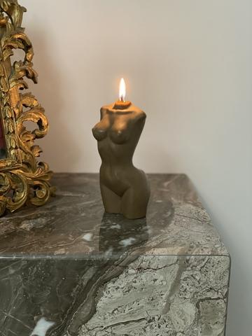 La Van De Свеча из натурального воска шоколадная Natural Wax Chocolate Candle