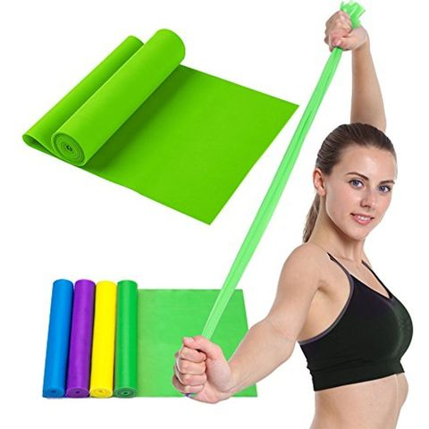 Rezin band \ Жгут спортивный резиновый \ Resistive Exercise Bands green