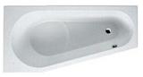 Ванна акриловая RIHO DELTA 150x80 R без гидромассажа