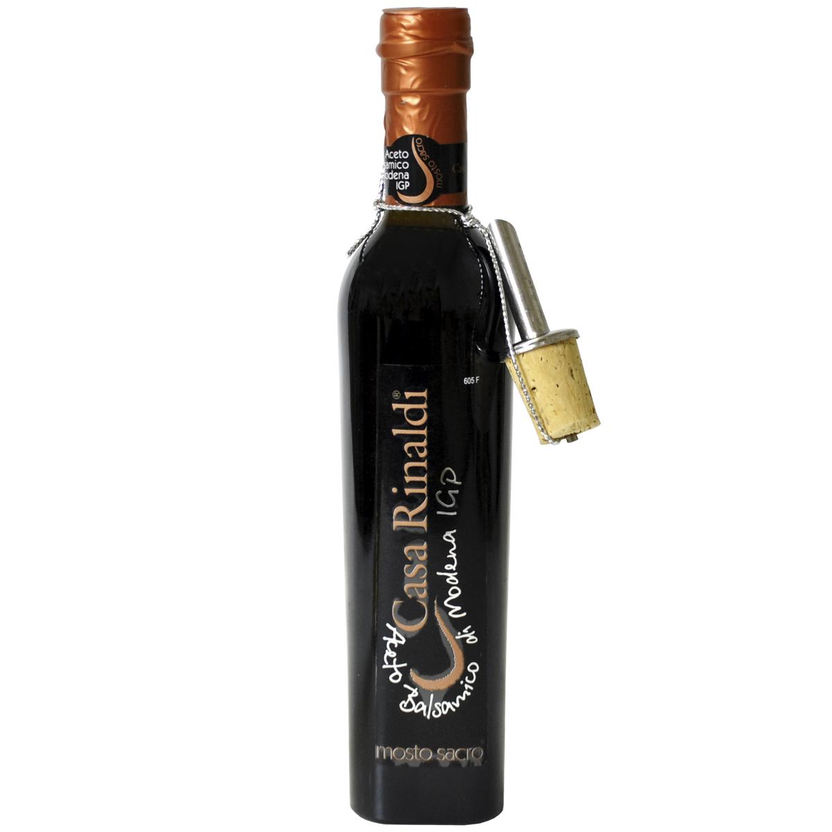 Уксус бальзамический Casa Rinaldi Premium 3 года выдержки Священное сусло 250 мл