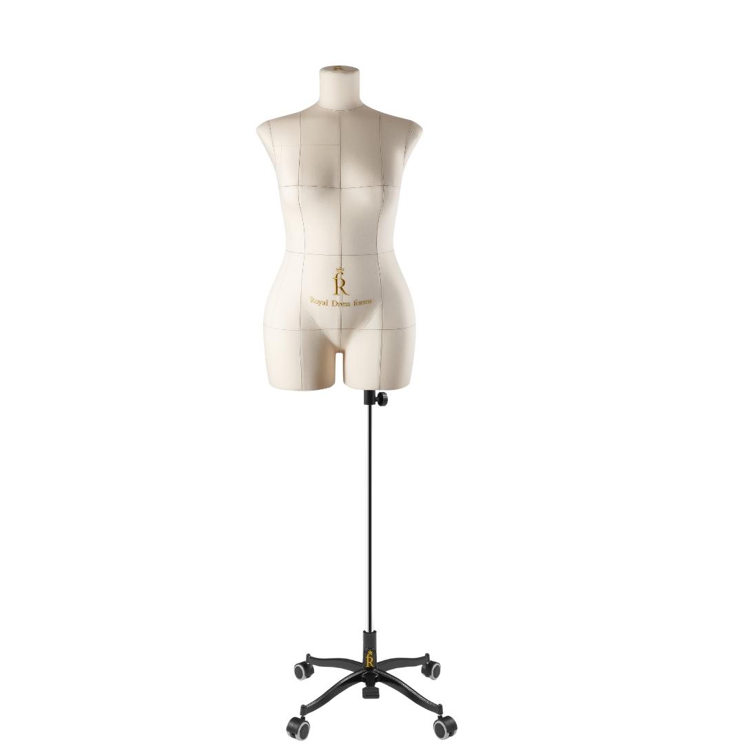 Манекен портновский Моника, комплект Стандарт, размер 46, БежеваяФото 1