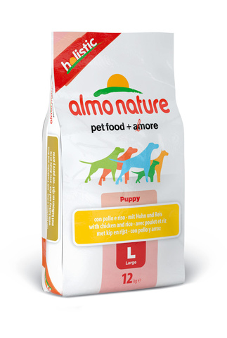 Сухой корм Almo Nature Holistic - Large Puppy&Chicken