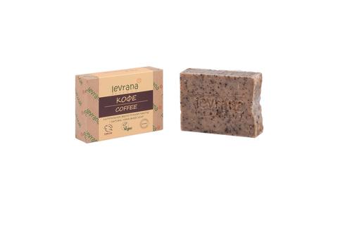 Levrana, Натуральное мыло ручной работы Кофе, 100гр