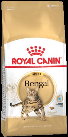 Для кошек бенгальской породы в возрасте от 1 года и старше