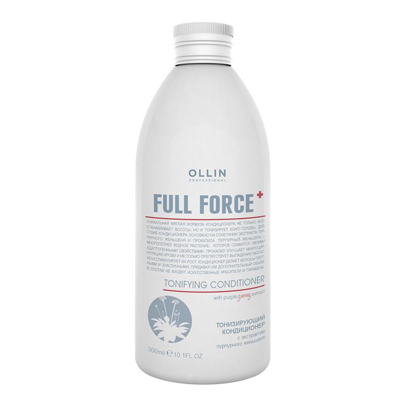 OLLIN PROFESSIONAL FULL FORCE Тонизирующий кондиционер с экстрактом пурпурного женьшеня 300 мл