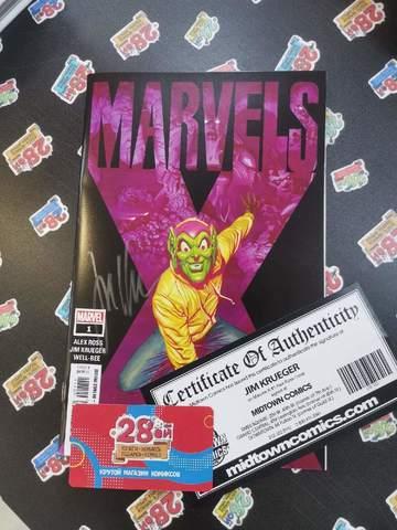 Marvels X #1 (с автографом Jim Krueger)