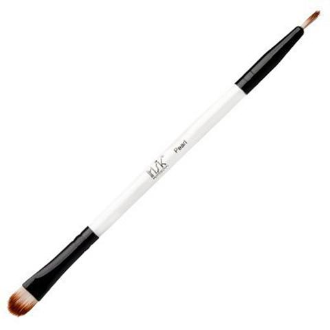 Кисть макияжная двухсторонняя Irisk Pearl для подводки и теней В507-01