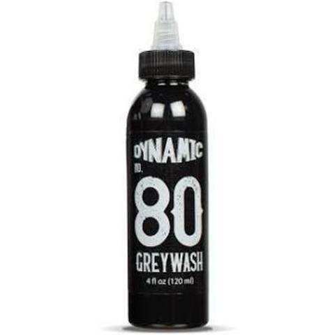 ТАТУ КРАСКА DYNAMIC #80 GREYWASH (Darkest Greywash) 120 мл