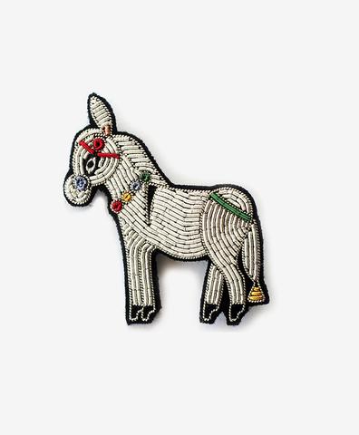 Брошь Donkey
