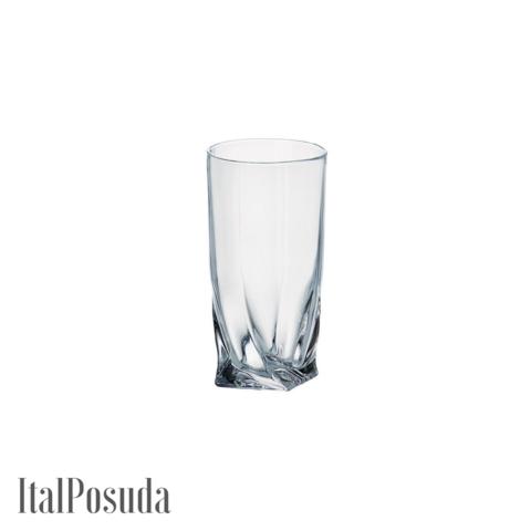 Набор стаканов для воды Bohemia Quadro (Квадро), 6шт BOHEMIA10470