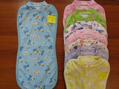 Пеленка цветная д/новорожденных  на замке (интерлок)