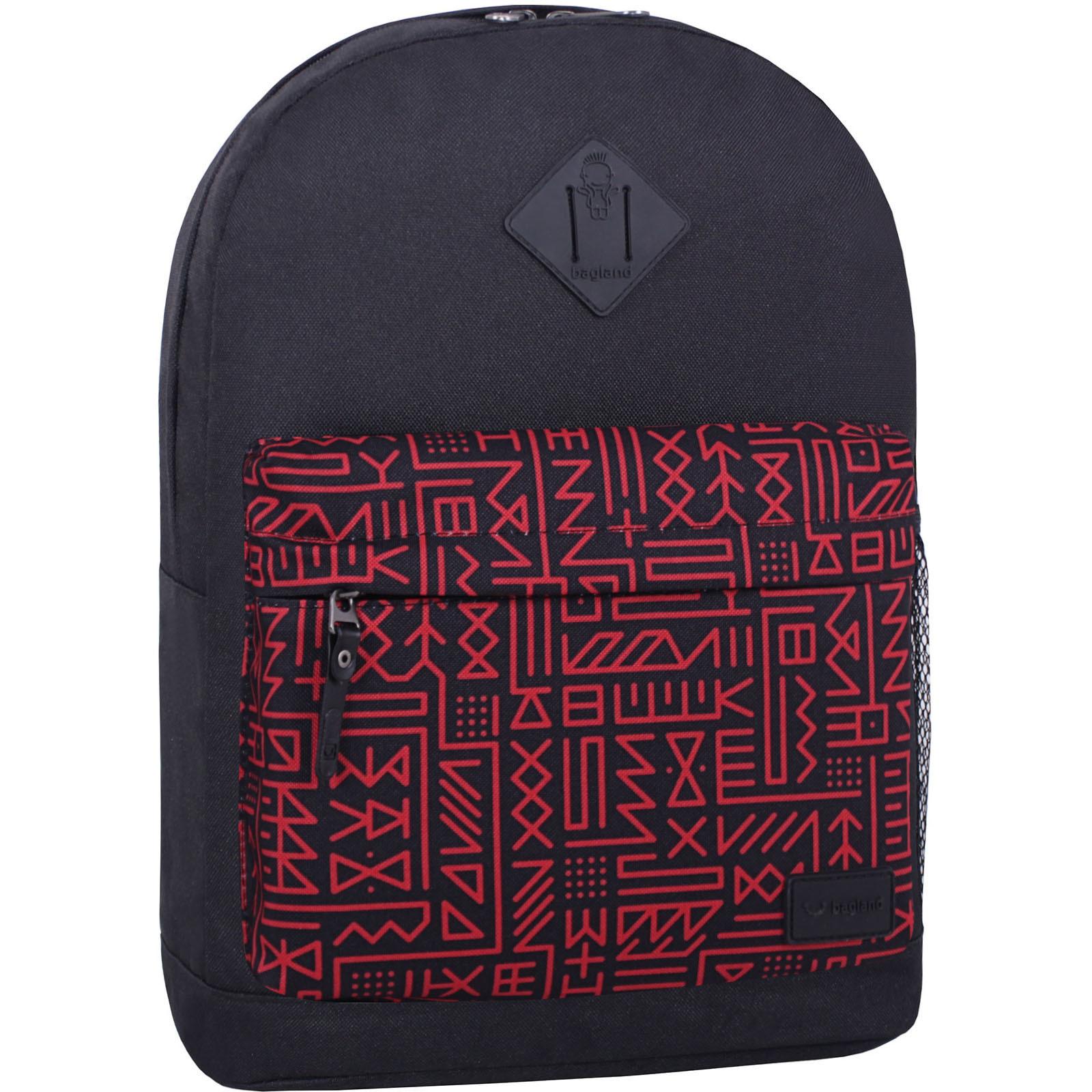 Городские рюкзаки Рюкзак Bagland Молодежный W/R 17 л. черный 741 (00533662) IMG_6826_суб741_-1600.jpg