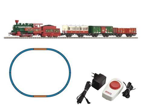 Рождественский поезд - Паровоз + 3 вагона
