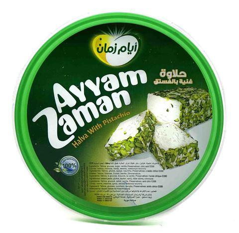 Кунжутная халва с фисташками, Ayyam Zaman, 200 г