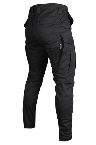 Джоггеры с шевроном на кармане Варгградъ black navy купить в Сочи 5999р