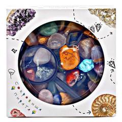 Уценка! Набор самоцветов Сокровища Пирата N2 , 15х15х5 см, 850 г