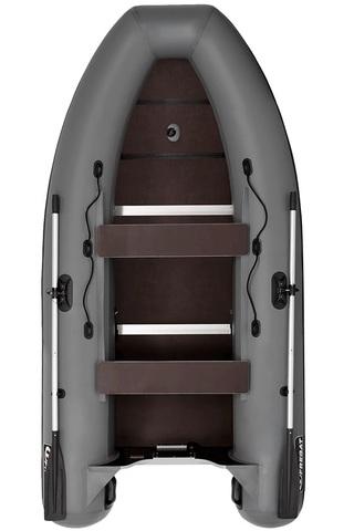 Лодка ПВХ Фрегат 350 С, серая