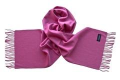 Шерстяной шарф розовый 29004