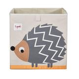 Коробка для хранения 3 Sprouts Ёжик (серый)