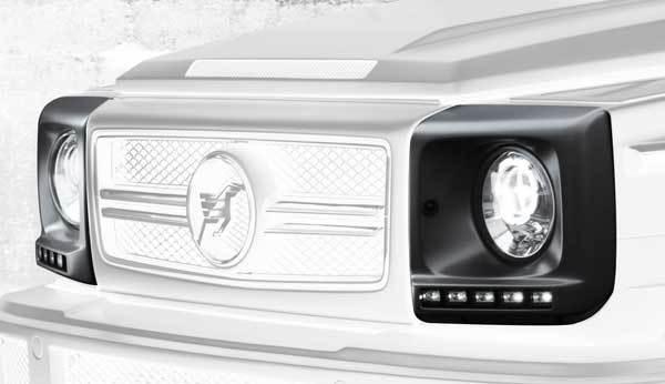 Обвес Hamann для Mercedes G55