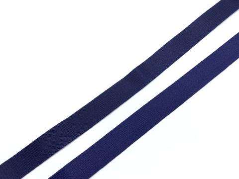 Резинка бретелечная темно-синяя 15 мм (цв. 061)