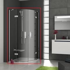 Душевой уголок с распашными дверями 90х90х190 см Ravak Smartline SMSKK4-90 3S277A00Y1 фото