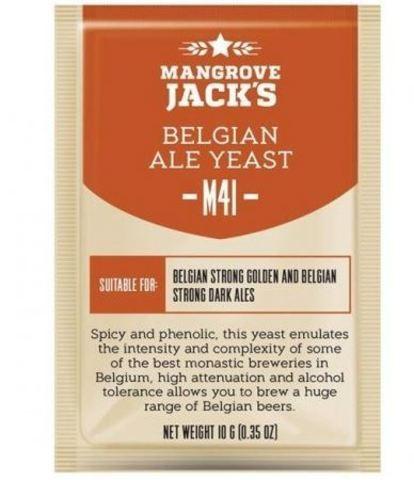 Пивные дрожжи Mangrove Jack's CS yeast M41 Belgian ale